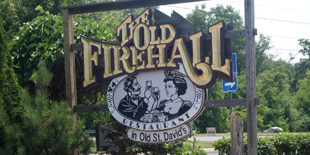 old firehall sign