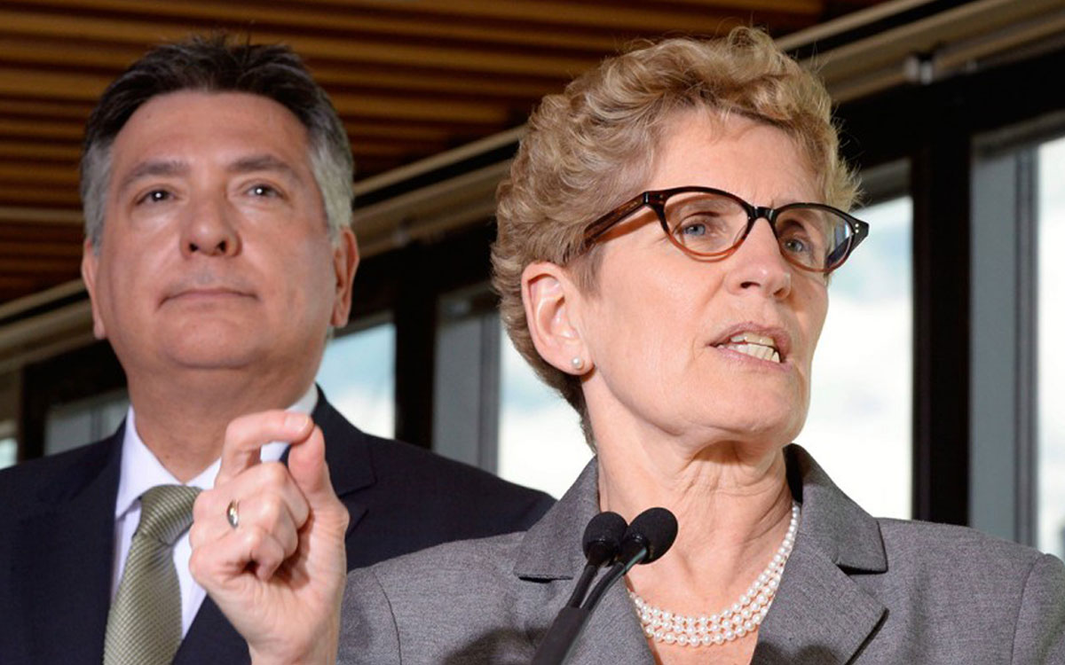 premier wynne and finance min sousa