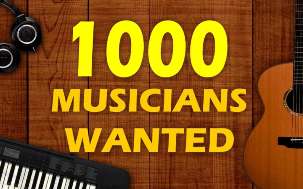 1000 musicians
