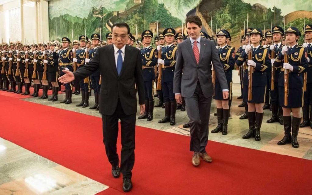justin trudeau in china
