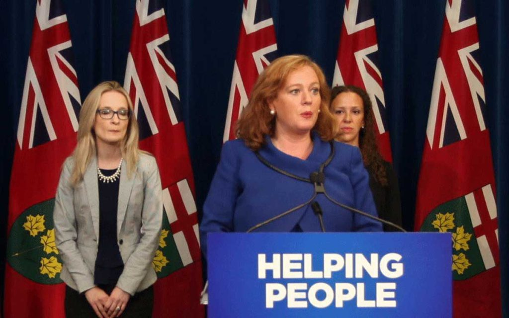 The Hon. Lisa MacLeod, Ontario's Minister of Children, Community and Social Services, announces changes to Ontario's welfare programs.