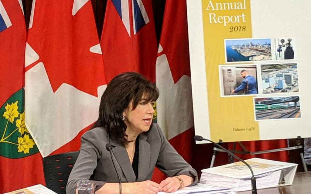 Bonnie Lysyk, Ontario's Auditor General, released her annual report this week.