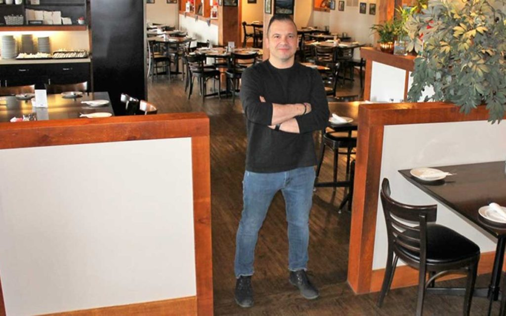 George Kountourogiannis, owner of George's Greek Village in St. Catharines