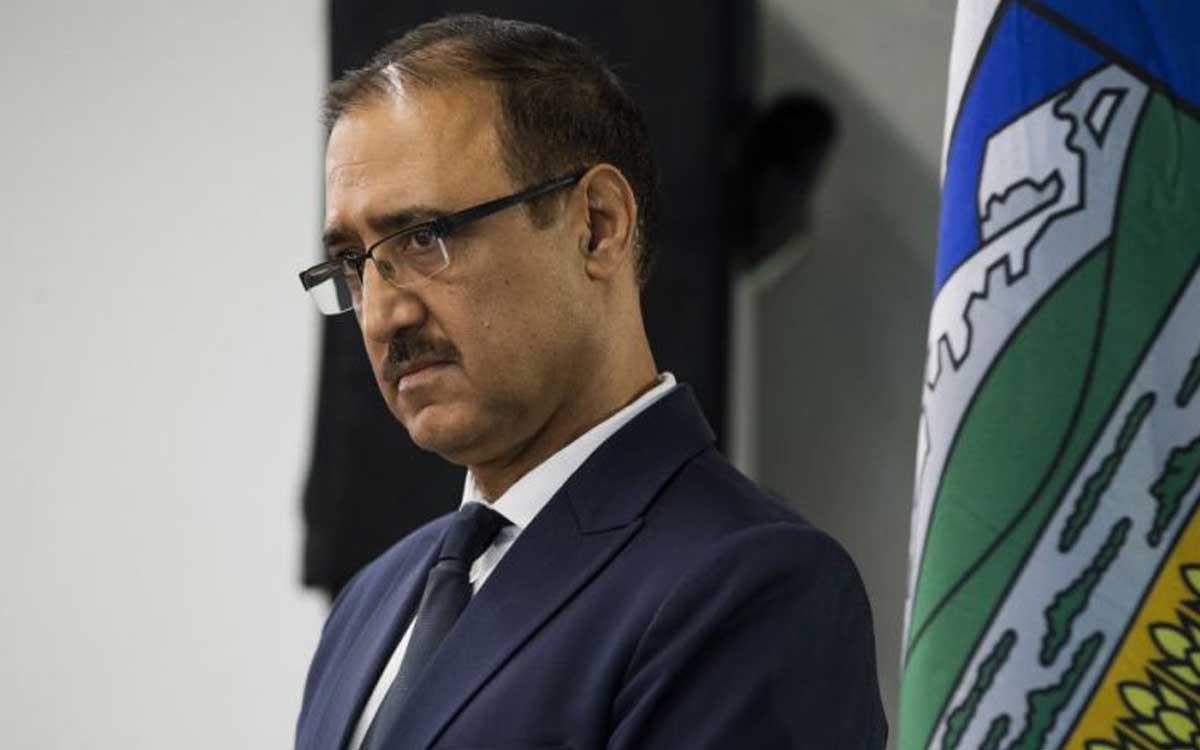 Canadian Minister of Natural Resources Amarjeet Sohi.