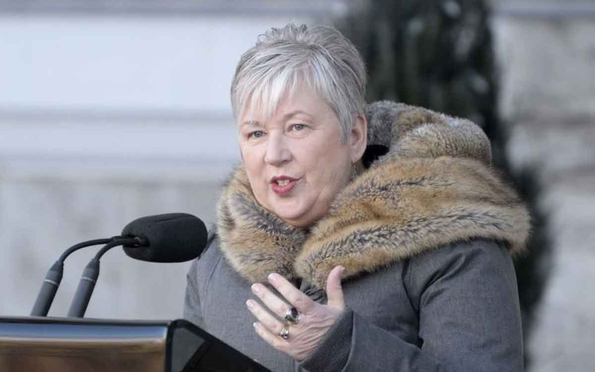 MP Bernadette Jordan