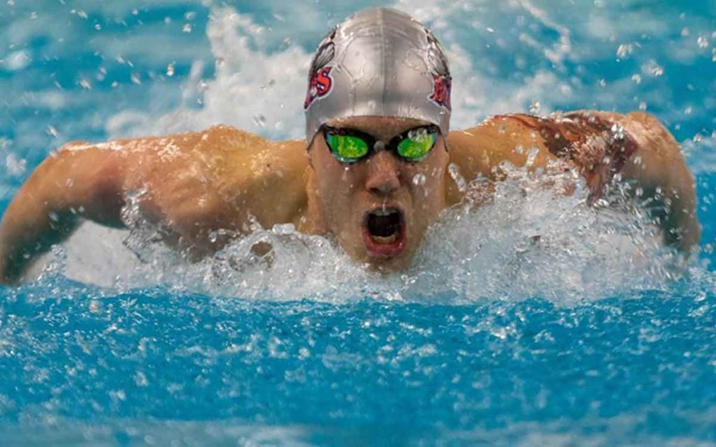 Brock swimmer Gokhan Bozyigit recently competed in the national championships this past weekend.