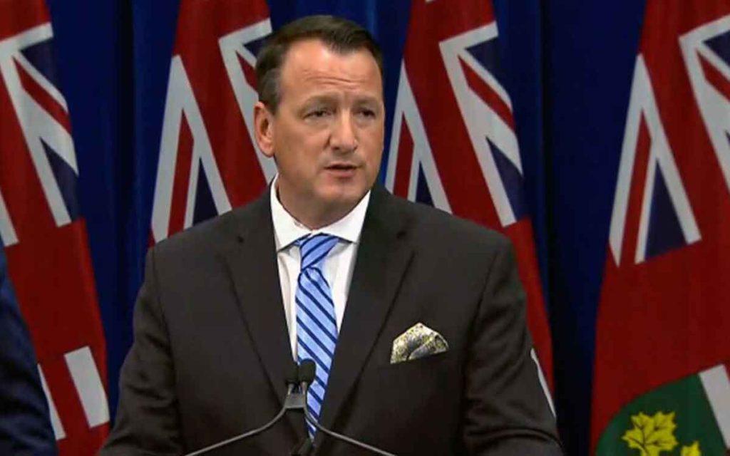 Ontario Energy Minister Greg Rickford