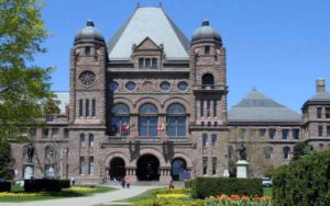Full Spring Agenda for Ontario