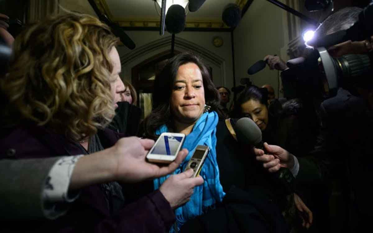 Former Liberal cabinet minister Jody Wilson-Raybould