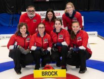 Brock women's curling captures silver at nationals
