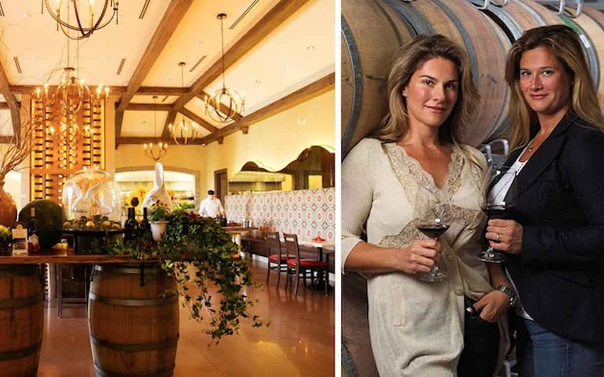 Two Sisters Vineyards won the Company of the Year Award at the recent Spirit of Niagara Awards. The winery's co-proprietors are Angela Marotta and Melissa Marotta-Paolicelli.