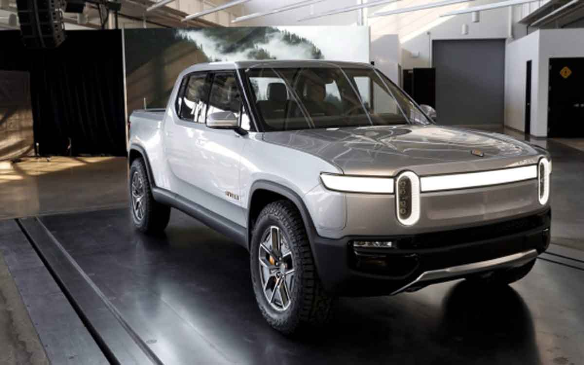Rivian's battery-electric truck.