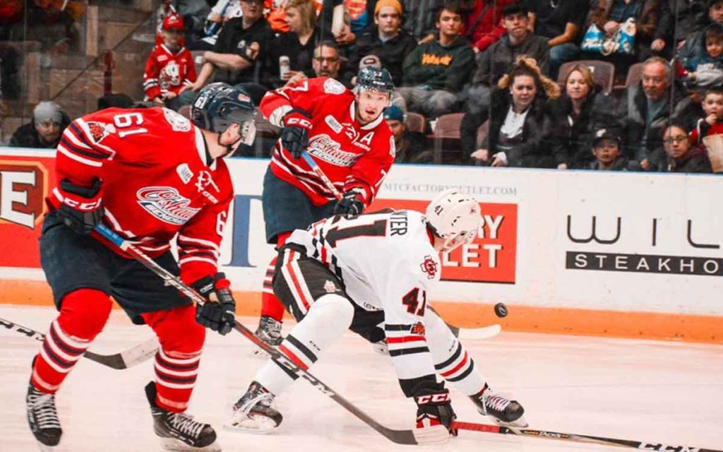 The Niagara IceDogs will take on the Oshawa Generals in the second round of OHL playoff action.