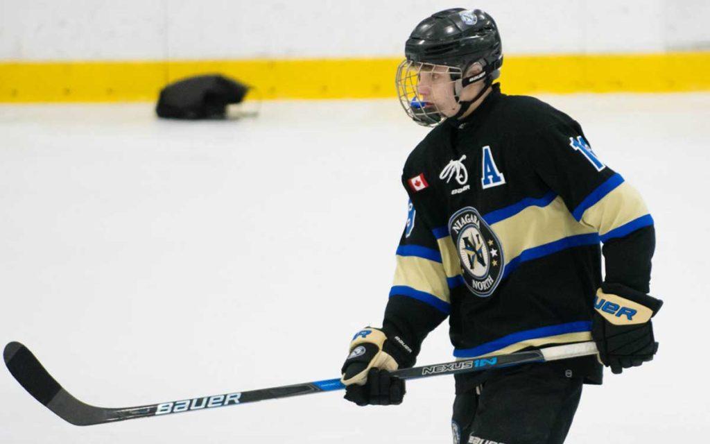 Matteo Giampa of the Niagara North Stars