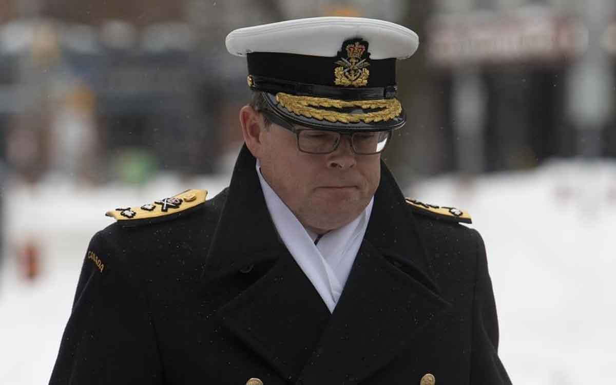 Vice-Admiral Mark Norman
