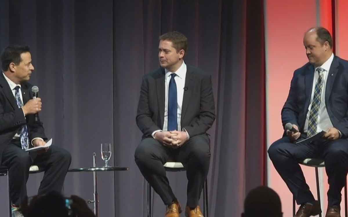 Andrew Scheer at the Homer Builders' Association convention