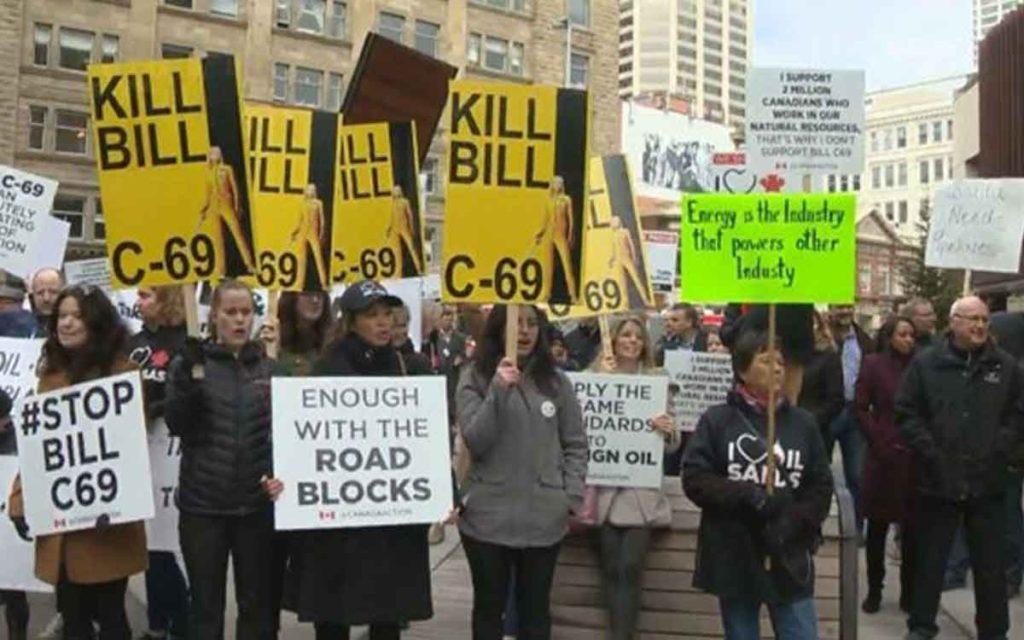 c-69 protest
