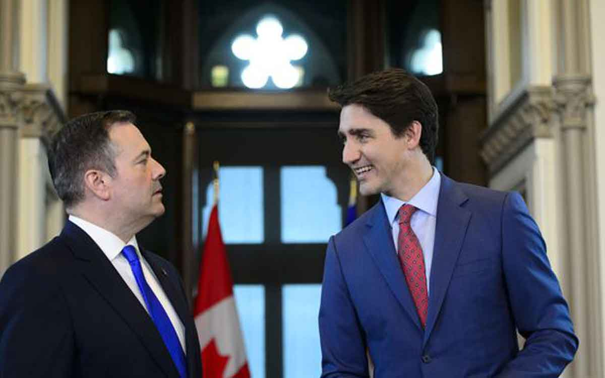 kenney and trudeau