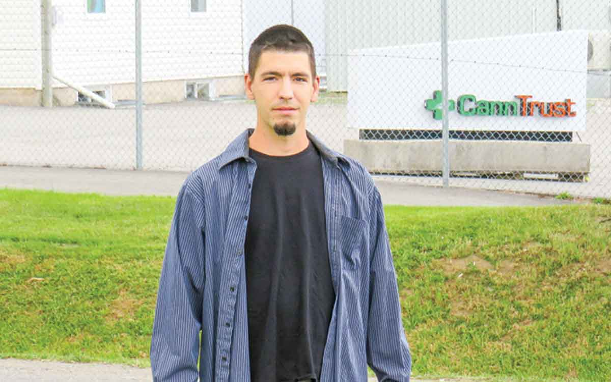 former CannTrust employee Nick Lalonde