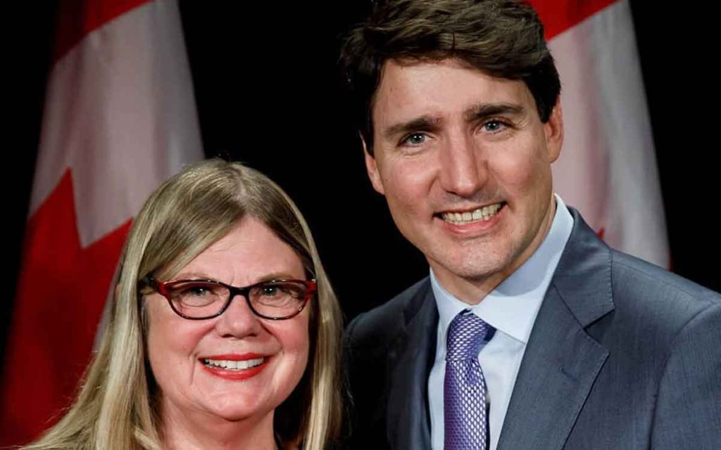 connie denesiuk and trudeau