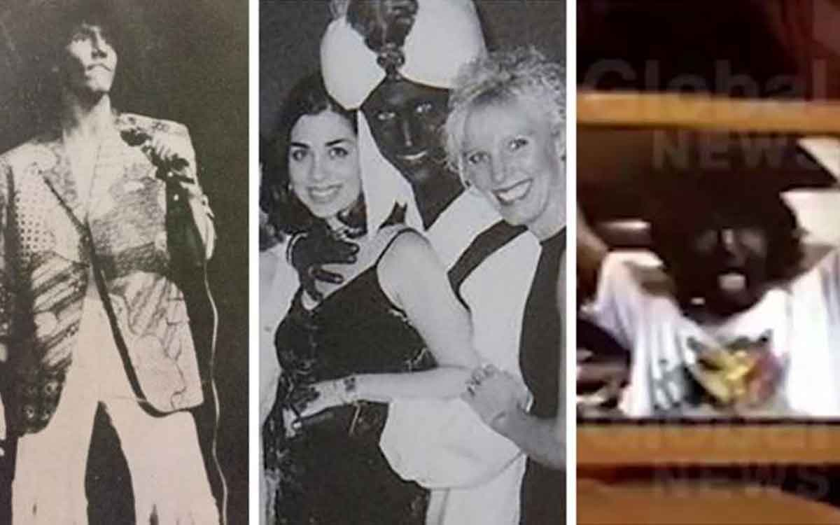 trudeau blackface photos