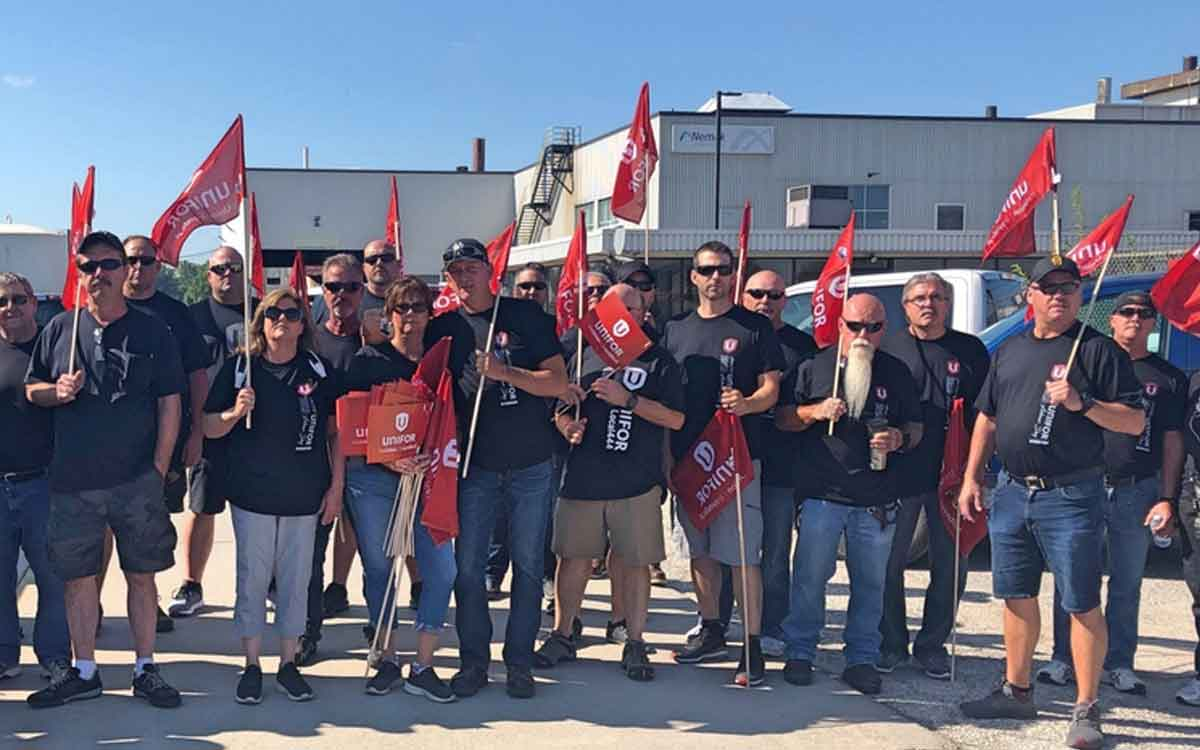 unifor blockade