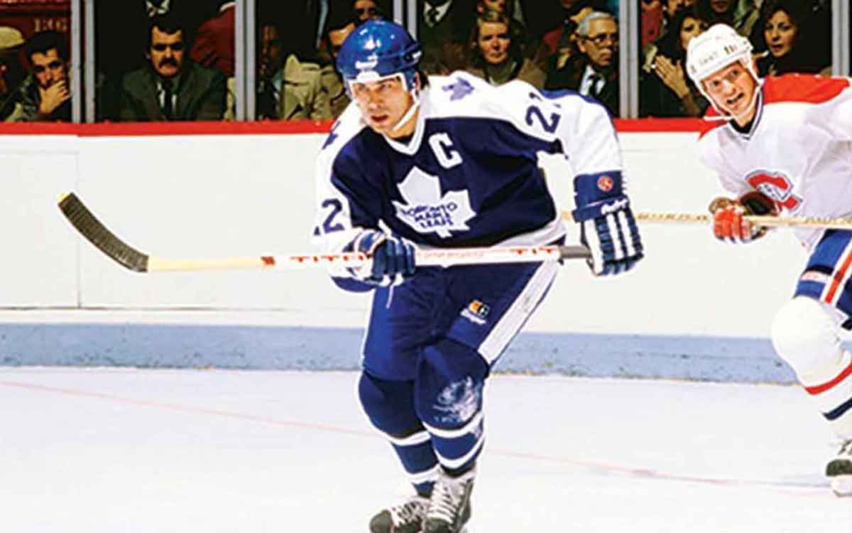 rick vaive on the ice