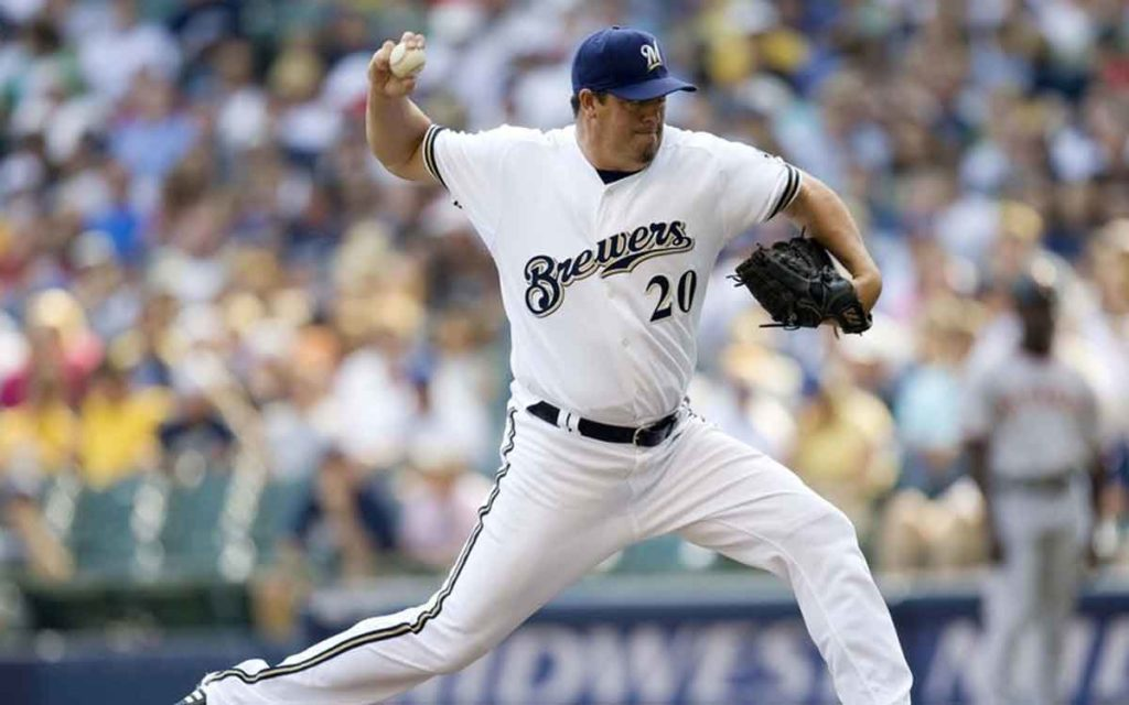 David Weathers pitching