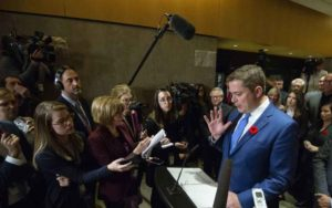 Journalists continue to storm Scheer's confessional