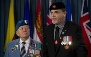 "Niagara veteran urges residents to say ""thank you"""