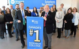 Niagara College tops list in research report