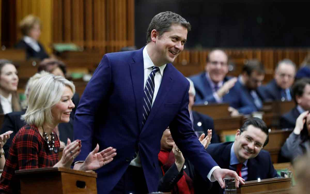 Andrew Scheer in the House of Commons