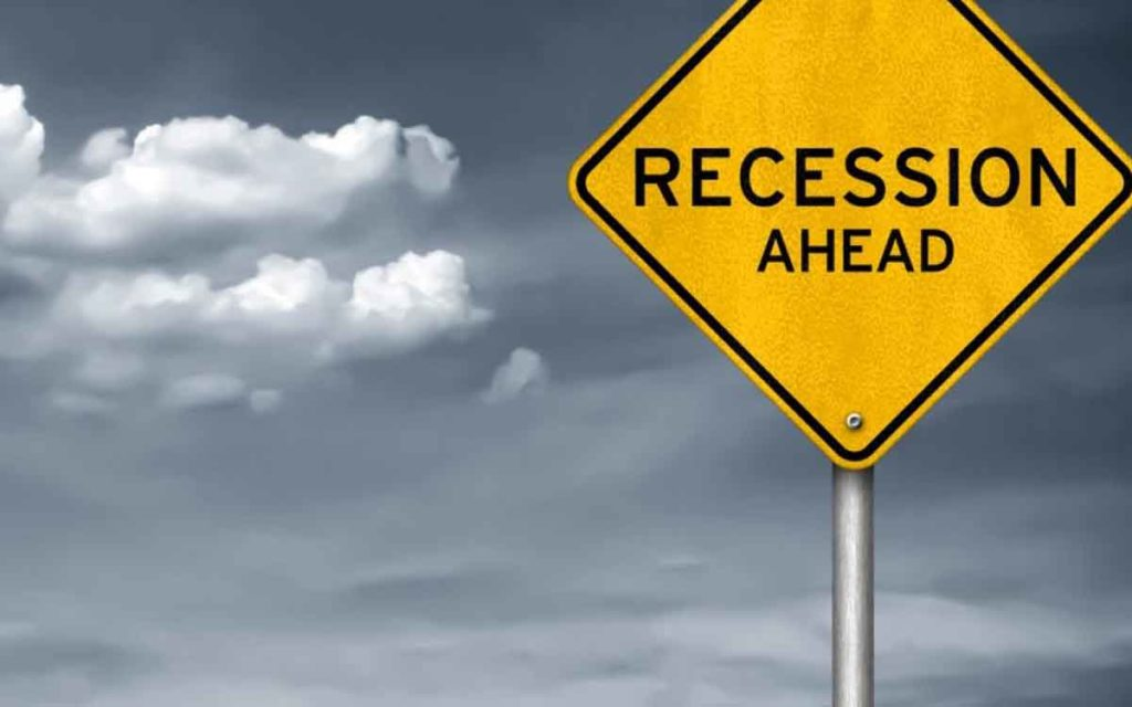 recession sign