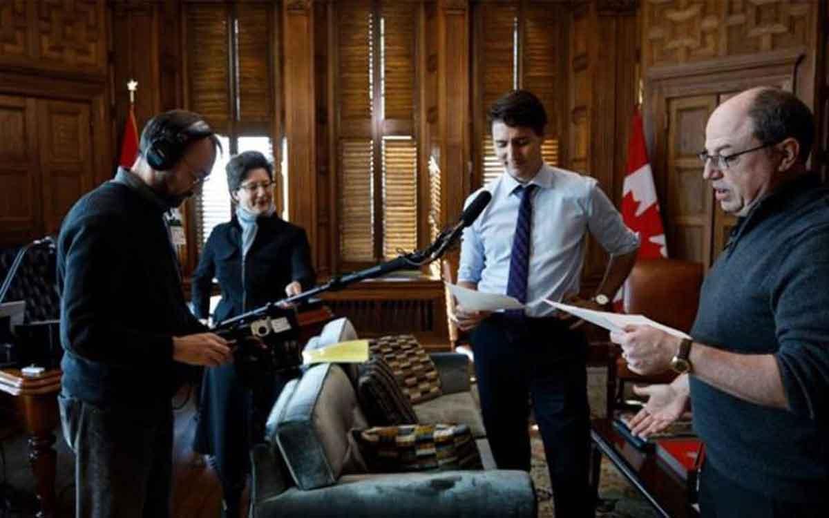 Trudeau - corner gas