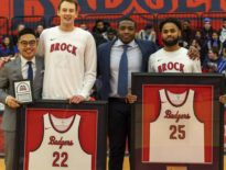 Brock basketball honours seniors with a pair of wins