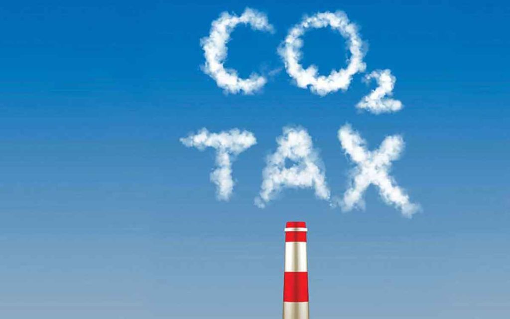 carbon tax in the clouds