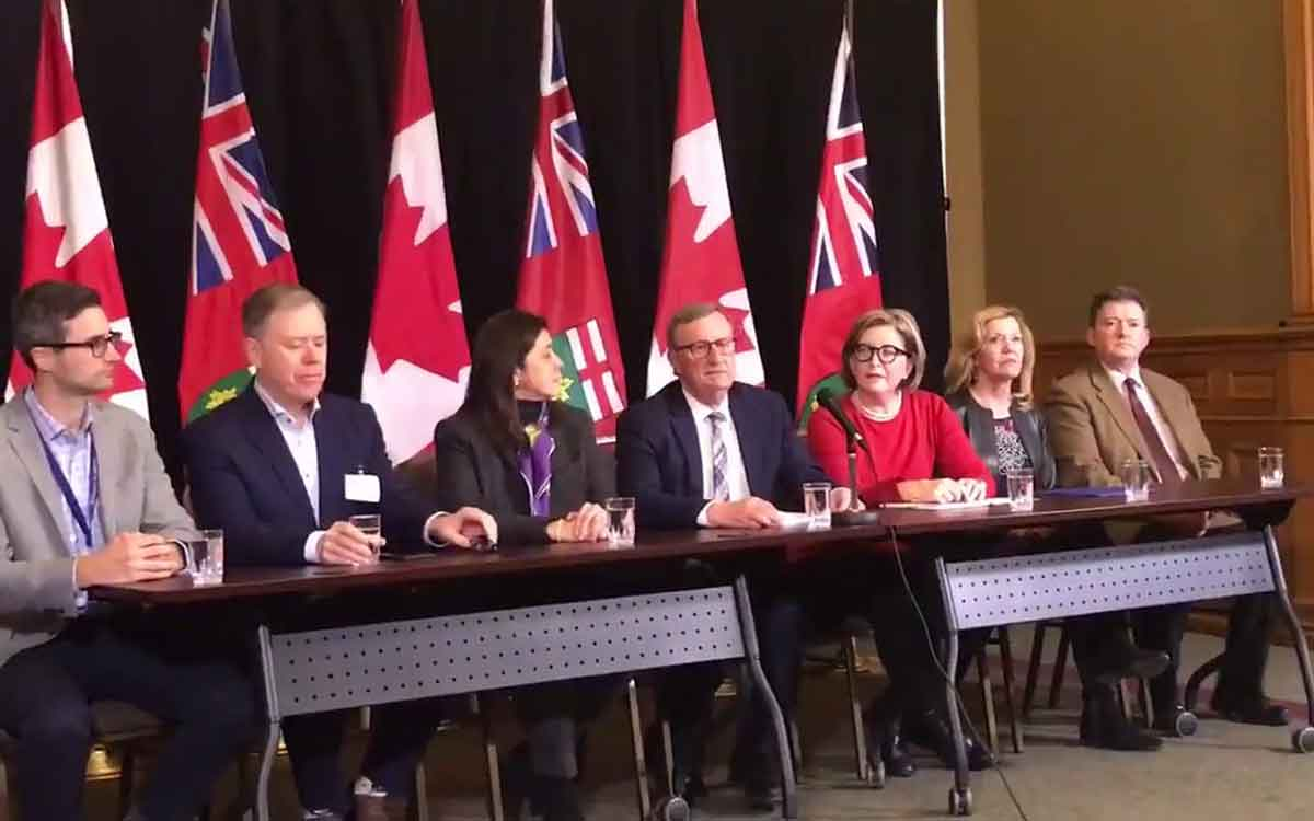 Ontario's top medical officials