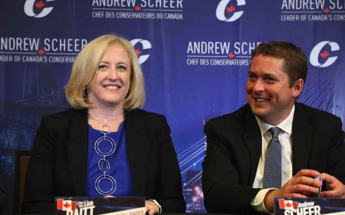 lisa raitt and andrew scheer