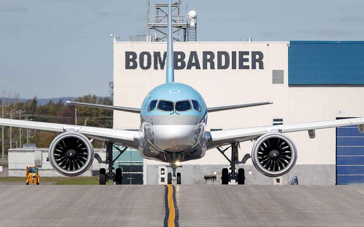 bombardier airplane
