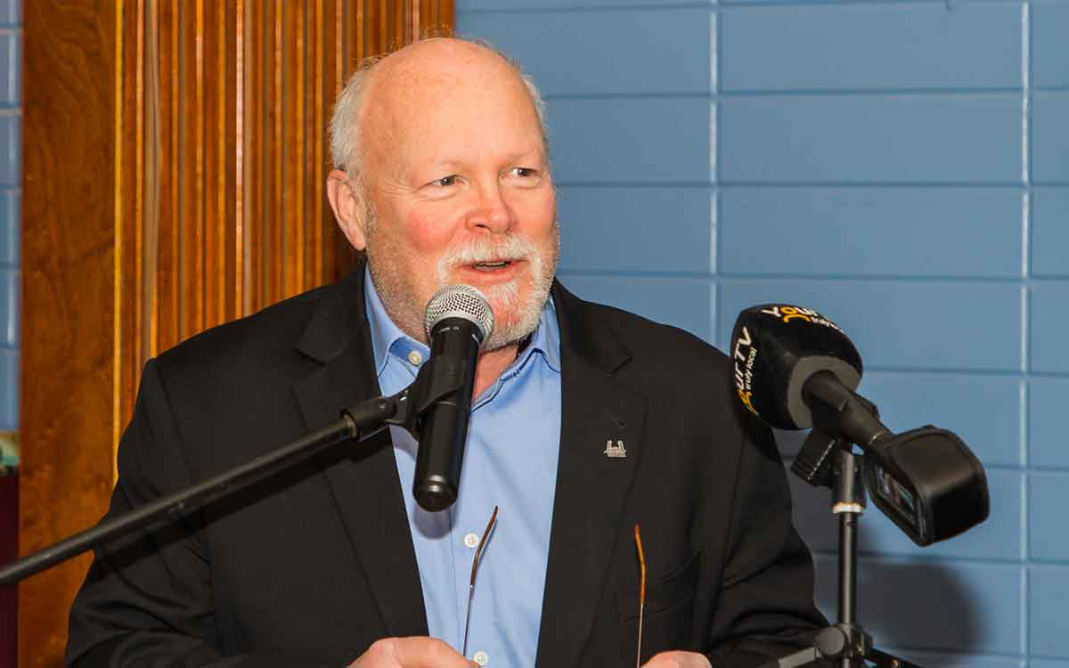 frank campion speaking at an event