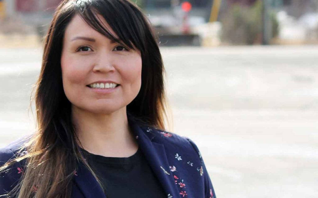 Haisla Nation Chief Councillor Crystal Smith