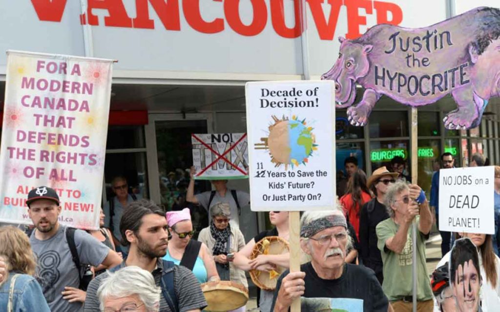 pipeline protestors