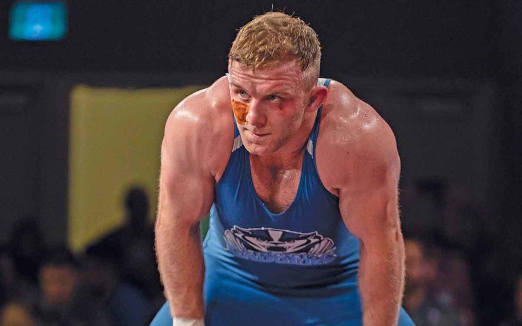 Brock university wrestler