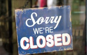Provinces orders businesses closed