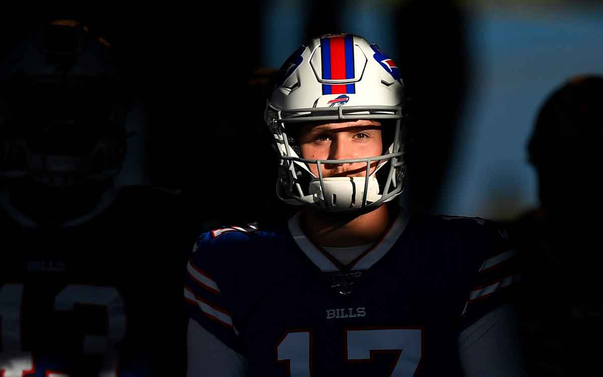 josh allen, quarterback for the bills