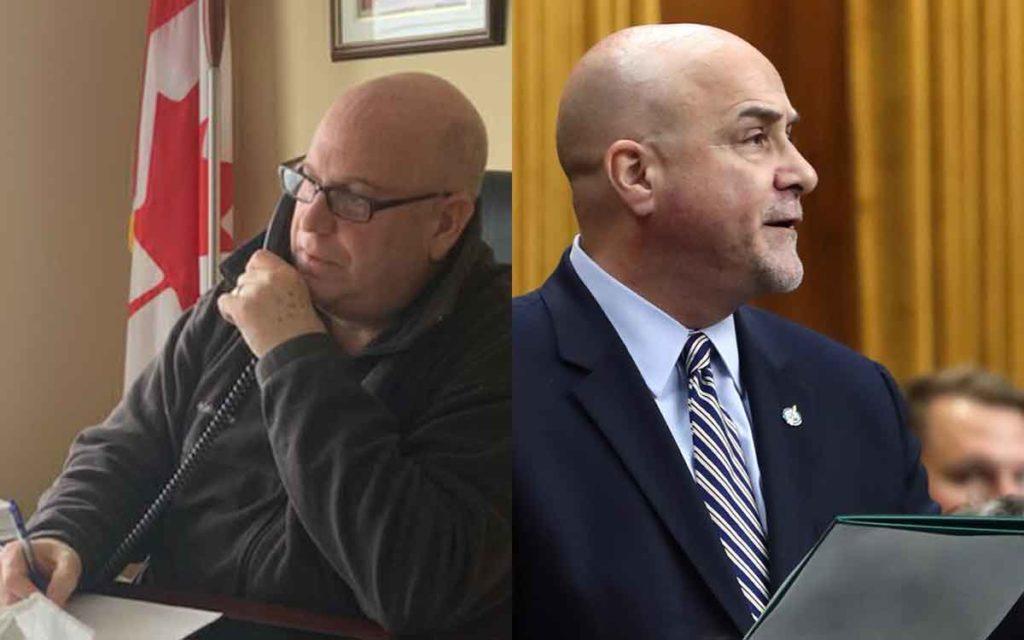 Dean Allison MP and Dean Baldinelli MP