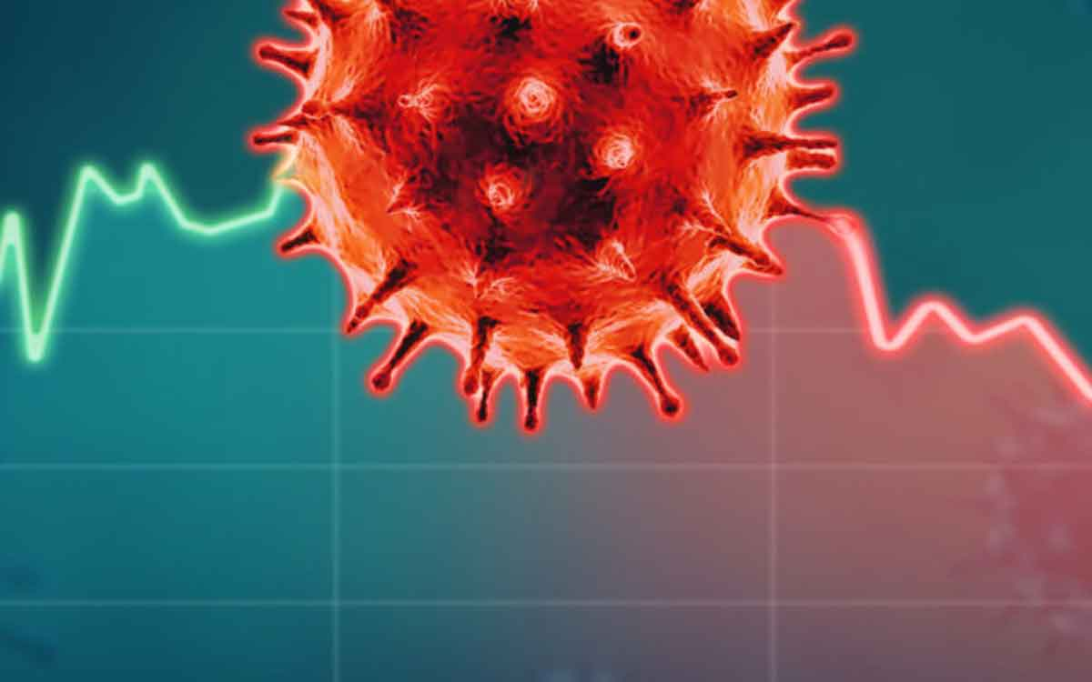 corona virus graphic