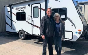 Frontline workers able to see family while in isolation thanks to Niagara RV