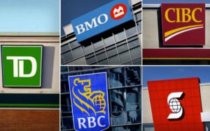 Canada's big banks see quarter results plummet