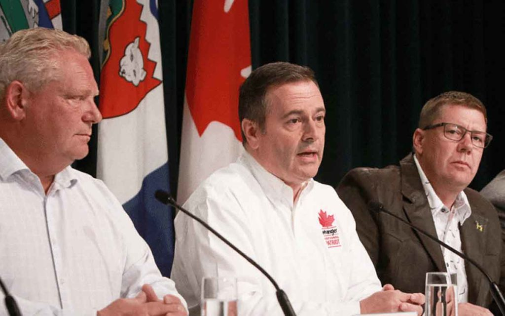 Premier Ford, Premier Kenney and Premier Moe